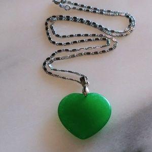 Pretty jade necklace